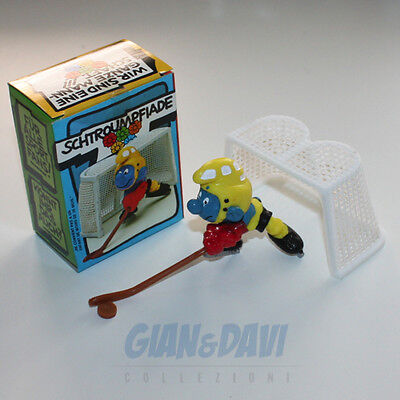 PUFFO PUFFI SMURF SMURFS SCHTROUMPF 4.0505 40505 Ice Hockey  Box 1D