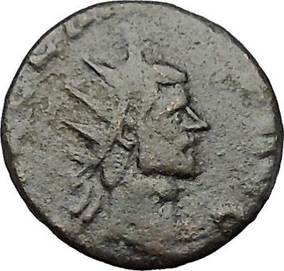 Claudius II Gothicus 268AD Ancient Roman Coin Victory Goddess Cult i50770