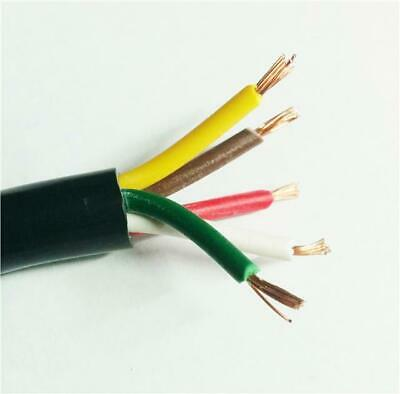 5 Colours 8.75Amp Cable 12N Towbar Caravan Wiring Towing Extension Lighting