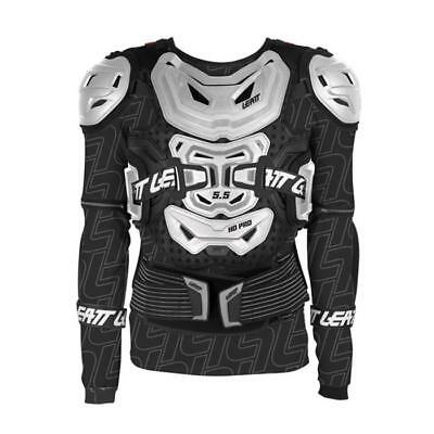 Leatt 5.5 Body Protector - Safety Jacket - weiss