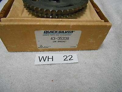 New 43-35338  Timing Cam Gear    Mercury Mercruiser Quicksilver