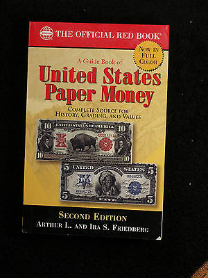 Official Red Book a Guide Book of United States Paper Money- 2nd Edition