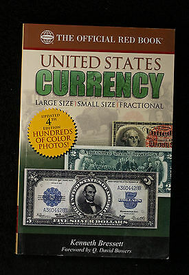 Official Red Book a Guide Book United States Currency - 4th Edition