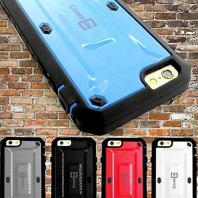 """Protective Hybrid Armor Tough Phone Cover Case for Apple iPhone 6 Plus 5.5"""""""