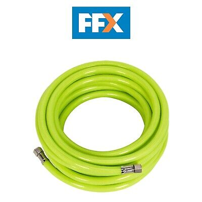 "Sealey AHFC10 Air Hose High Visibility 10mtr x Ø8mm with 1/4""BSP Unions"