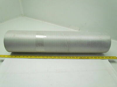 "1 Ply Black Slip Top Nylon Backed Conveyor Belt 26"" Wide 19Ft Long 0.075"" Thick"