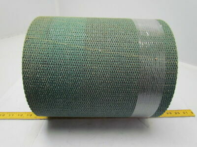 "Hard Rough Top Green Friction Conveyor Belt 11-1/2"" Wide 12Ft Long 0.250"" Thick"