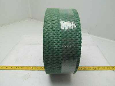"Hard Rough Top Green Friction Conveyor Belt 4-1/2"" Wide 15Ft Long 0.250"" Thick"