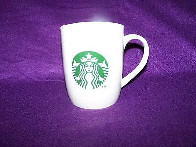 2011 STARBUCKS Mermaid Coffee Mug Cup Siren Logo Green and White  gift pack only