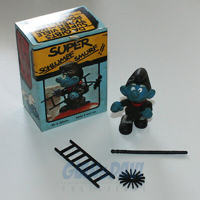 PUFFO PUFFI SMURF SMURFS SCHTROUMPF 4.0202 40202 Chimney Sweep Box 5A