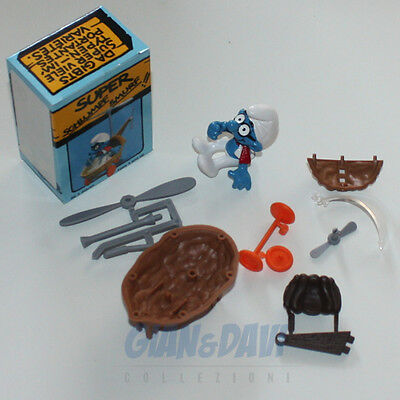 PUFFO PUFFI SMURF SMURFS SCHTROUMPF 4.0233 40233 Helicopter Elicottero Box 5A