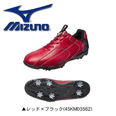 Golf Shoes Lite Style 035 soft spike model Red 45KM035 Mizuno Japan New