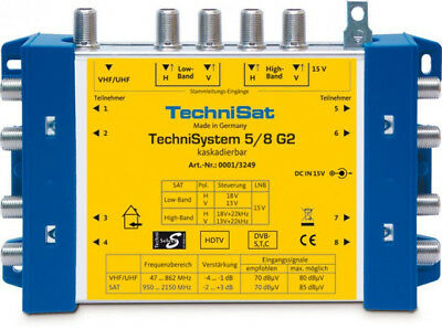 TechniSat TechniSwitch 5/8 G2 DC-NT Multiswitch Multischalter