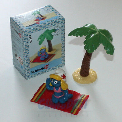 PUFFO PUFFI SMURF SMURFS SCHTROUMPF 4.0262 40262 Smurfette On Vacation Box 7A