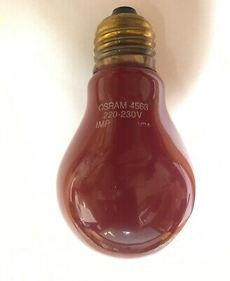 ORIGINAL OSRAM 4513 Duka PHOTOLAMP Darkroom Lamp Lamp of development of
