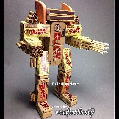 """""""RAWBOT"""" KIT - RAW Rolling Papers PLUS - Some assembly required! 17 total items"""