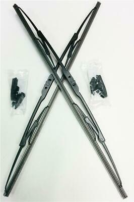 """13"""" + 13"""" Quality Pair Of Front Max Wiper Blades For Car Windscreen Windshield"""