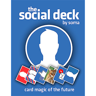 The Social Deck (DVD and Gimmick) by Soma