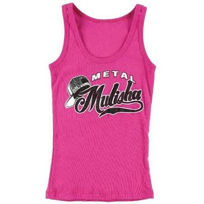 Metal Mulisha Kinder Tank-Top Girls - PLAY BALL TANK - hot-pink