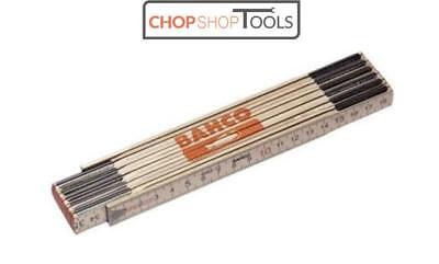 Bahco Folding Wooden Rule WR2 Metric & Imperial BAHWR2