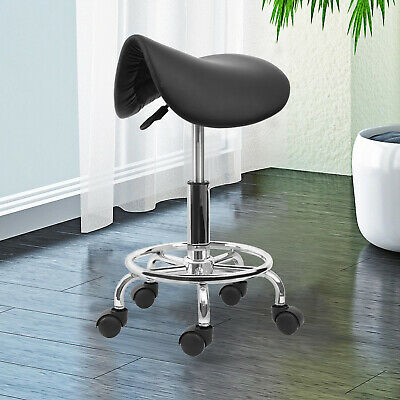 Hydraulic Saddle Salon Stool Massage Chair Tattoo Facial Spa Office