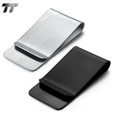 Quality Classic TT 316L Matt Stainless Steel Money Clip (MC41) NEW Arrival