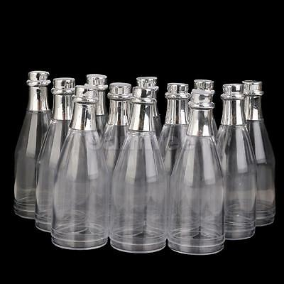 12pcs Fillable Champagne Bottles Candy Box Wedding Party Shower Event Favors