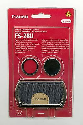 Set Filtri (Protezione + ND8 + Custodia) Canon FS-28U Originale 28mm
