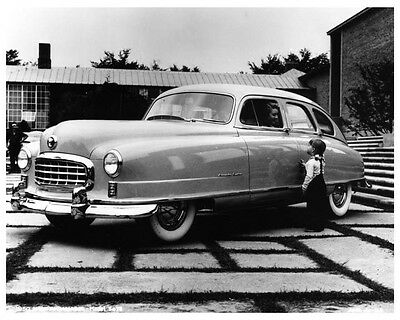 1950 Nash Ambassador Custom 5078 Sedan Factory Photo ca2416