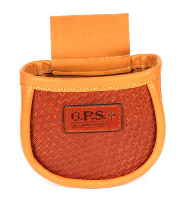 G.P.S. GPS-L760-2 50 Shell Pouch Leather Leather