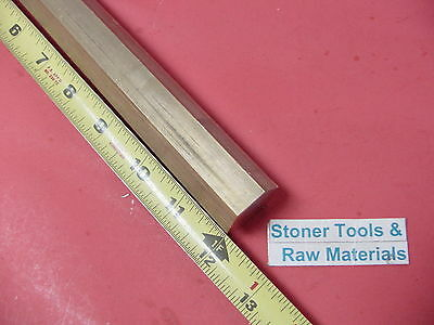 "1"" C360 BRASS HEX BAR 12"" long New Lathe Bar Stock 1.00"" Flat to Flat 1/2 Hard"