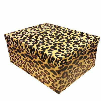 Leopard Skin Christmas Box Various Sizes from 12.5' x 11' x 6.5' in 10 box Set