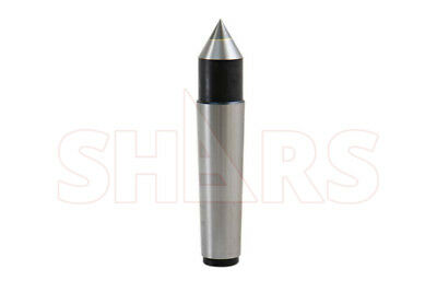 SHARS 4MT Carbide Morse Taper Solid Dead Center NEW