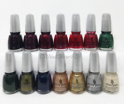 China Glaze Nail Lacquer- 'TIS THE SEASON... Collection - Choose Any Color