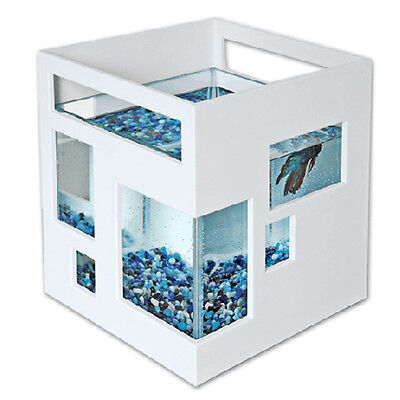 Umbra Glass Fish Bowl Tank Hotel Pet Supplies Aquarium Fishhotel Water Stackable