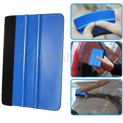 Vinyl Plastic Wrap Applicator Car Squeegee Decal Soft Felt Edge Scraper Tool