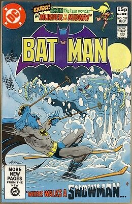 Batman #337 - VF
