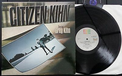 KLP98 - Greg Kihn - Citizen Kihn (EJ 2403031) UK LP, emi america 1985