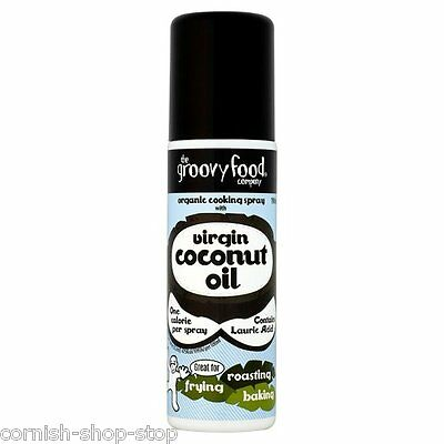 Virgin Coconut Oil One Calorie Organic Cooking Spray By The Groovy Food Company!