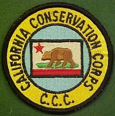 California Conservation Corps CCC Patch