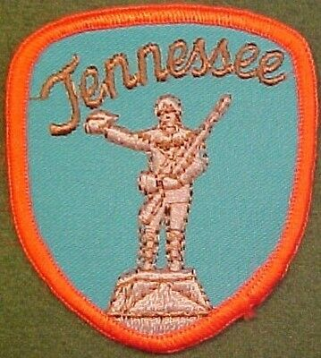 Tennessee on Blue Twill Patch