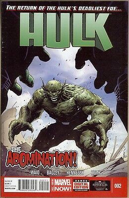 Hulk (Vol. 2) #2 - NM- - 1st Print
