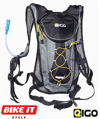 New Eigo Cycling Hydration Pack - Ruck Sack Back Pack Bag - 3 Sizes - Bicycle
