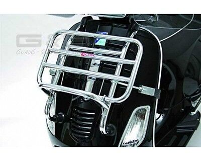 FACO Luggage rack Pull carrier in chrome for Front Piaggio Vespa S 50 125