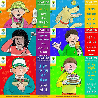 Oxford Reading Tree Level 5 Floppy Phonics Alternative Spellings (Book 25-30)New