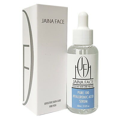 100% Pure Hyaluronic Acid HA Anti Aging Wrinkle Firm Collagen Facial Serum 60ml