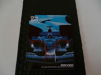 Toyota Magazine One Aim Autumn 2005 Up Close & Personal With F1 Stormer