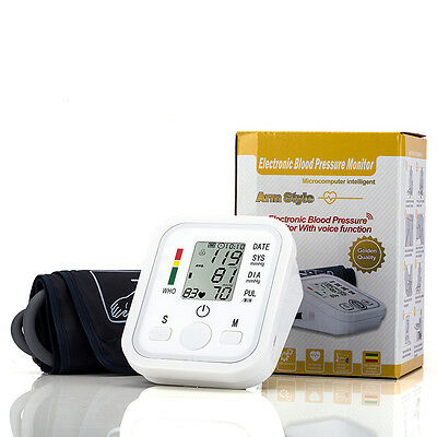 Digital Blood Pressure Upper Arm Monitor Intelisense Automatic  Professional CE