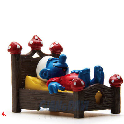 PUFFO PUFFI SMURF SMURFS SCHTROUMPF 4.0240 40240 in Bed Letto 4A