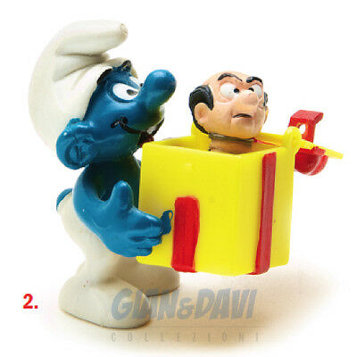 PUFFO PUFFI SMURF SMURFS SCHTROUMPF 4.0247 40247 Jokey With Box Regalo 2A